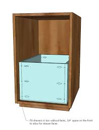 how to build a file cabinet drawer ana white eco office file base made with purebond formaldehyde