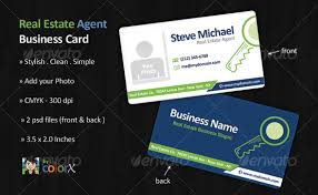 Realtor Business Card Template 30 Real Estate Business Card Templates Tutorial Zone