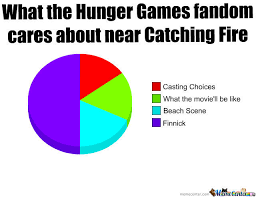 what the hunger games fandom cares about near catching fire by