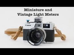 shoe light meter miniature and vintage light meters youtube