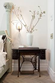pictures of dining rooms dining room decorations sewing machine table antique distressed