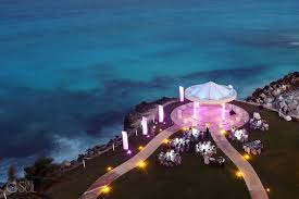 cancun wedding destination wedding at dreams cancun and anh sol