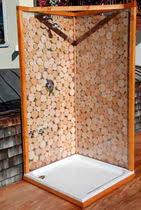 box doccia da esterno set tavolo e panca moderno da giardino per uso residenziale