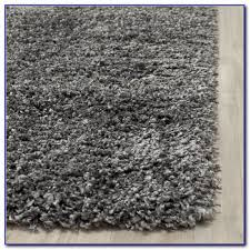 Grey Shaggy Rugs Safavieh Shadow Box Ultimate Grey Shag Rug 6u0027 7 Round Sophia