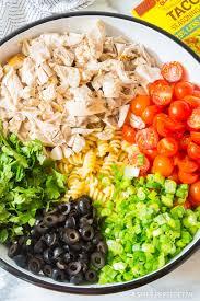 best pasta salad recipe cool chicken taco pasta salad a spicy perspective
