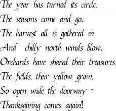 ralph waldo emerson thanksgiving verse ralph waldo emerson