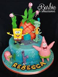 spongebob cake ideas template spongebob on canvas painting board search clay