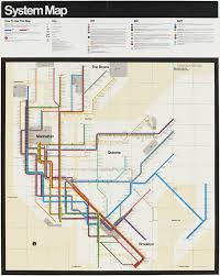 New York Underground Map by New York Subway Map Massimo Vignelli Vignelli Associates