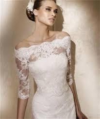 lace wedding dress with jacket ivory lace bolero wedding ivory half sleeves shoulder lace