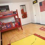 bedroom basketball bedroom hoop ideas 20 sporty bedroom ideas
