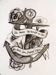 amazing banner anchor tattoo design in 2017 real photo pictures