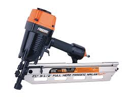 Battery Roofing Nailer by Freeman Pfr2190 21 Degree Full Head Framing Nailer Power Framing