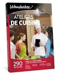 coffret cours de cuisine ateliers de cuisine coffret cadeau wonderbox
