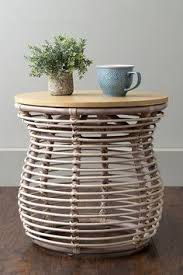 Rattan Accent Table Magical Thinking Luna Rattan Side Table Magical Thinking Rattan