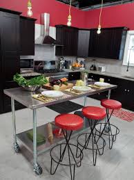 red kitchen paint ideas kitchen red kitchen with black cabinets kitchen cabinets color