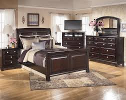 Ashley Furniture Beds Bed Path Included Sleigh Bed Ashley Furniture Contemporary
