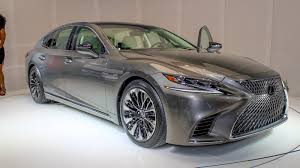 lexus that looks like a lamborghini 2018 lexus ls 500 review top speed