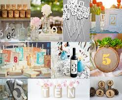 Wedding Table Numbers Ideas Table Number Ideas U0026 Inspirations Edyta Szyszlo Product