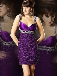 deluxe brand new rhinestone embellished halter neck purple satin