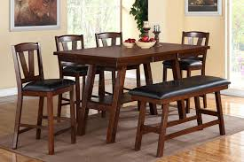 dining chairs 7 piece dining room set counter height table