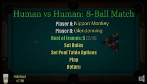 Human Pool Table by Play Pool Against Your Friends Human Vs Human Pool American 8