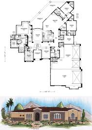 Large Ranch Floor Plans Ranch House Plans Parkdale 30 684 Associated Designs In 3000 Sq Ft