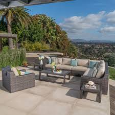 Wholesale Patio Store Coupon Code by Kingston 10 Piece Modular Seating Set By Mission Hills