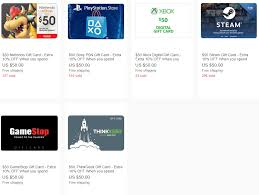 steam digital gift card expired ebay 10 giftcards when you spend 100 nintendo