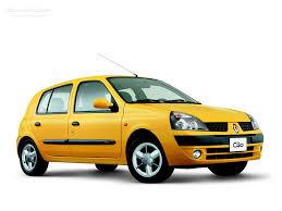 renault yellow renault clio 5 doors specs 2001 2002 2003 2004 2005 2006