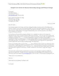 internship cover letter sample writing a job application letter