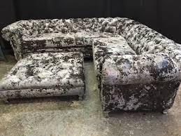 Corner Chesterfield Sofa Crushed Velvet Corner Chesterfield Sofa By Sofas In Fashion Homify