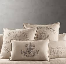 Restoration Hardware Throw Restoration Hardware Pillows Pillow Decoration