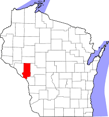 Wisconsin State Map by National Register Of Historic Places Listings In Trempealeau