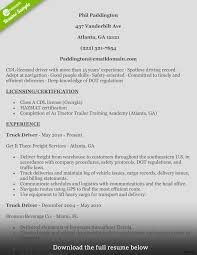 truck driver resume exles best truck driver resume exle livecareer beautiful exles