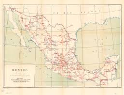 Map Of Zacatecas Mexico by
