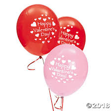 valentines baloons s day 11 balloons