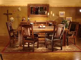 Western Dining Room Furniture Furniture Finest Rustic Western Heritage Furniture For Custom