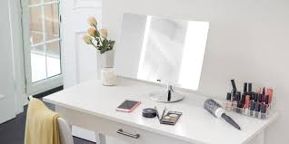 Make Up Mirrors With Lighted Travel Makeup Mirror With Lights Vanity Decoration