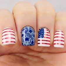 nail designs for short nails pictures fourth of july nail design