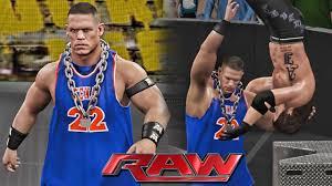 john cena fan club wwe raw 6 6 16 john cena returns as dr thuganomics attack the