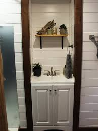 8 tiny house bathrooms packed with style hgtv u0027s decorating