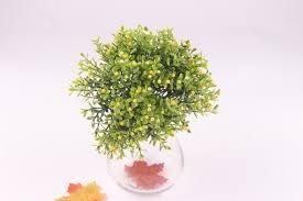 Buatan Natal Miraflor Anggrek Aglaia Bunga Hijau Tanaman Dekorasi 6