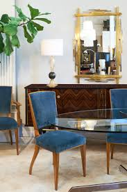 Cherry Wood Dining Room Tables by French Art Deco Cherrywood Dining Chairs Set Jean Marc Fray