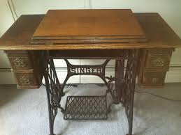 Singer Sewing Machine Cabinets by 1904 Singer Model 27 4 Treadle Sewing Machine Cabinet Shown In