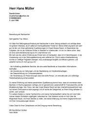 Bewerbungsschreiben Ferienjob Beispiel gallery of 10 anschreiben bewerbung muster questionnaire templated