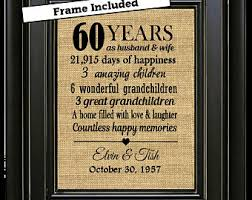 60th wedding anniversary plate framed 60th wedding anniversary 60th anniversary gifts 60th