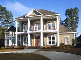 modern plantation homes plantation house plans house plans and more