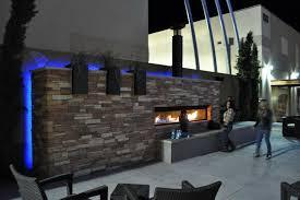 outside gas fireplace binhminh decoration