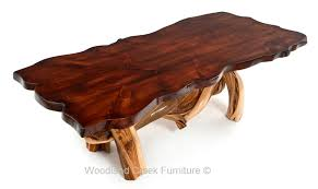 rustic log dining room tables log dining table rustic furniture cabin dining table log