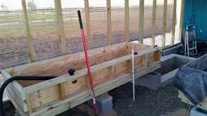 backyard aquaponics system contruction designed for warmer